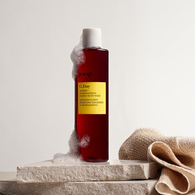 Energy Body Wash Display